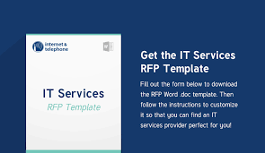 how to write an it services rfp w bonus rfp template