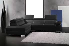canapé d angle pouf canapé d angle petit helsinki en cuir haut de gamme italien