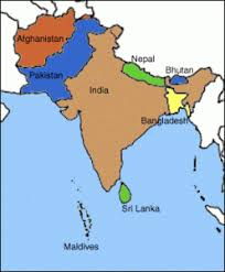 south asia countries map south asia map dental school