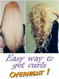different ways to curl your hair with a wand easy way to get curls overnight goods from the net