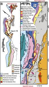 Appalachian Mountains Canada Map by A Newly Identified Gondwanan Terrane In The Northern Appalachian