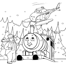 train hat coloring page thomas and friends coloring pages save for kids printable free