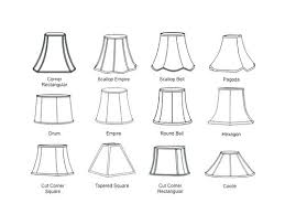 bell shaped l shades l shade styles and shapes l shade shapes l shade shapes