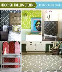 Trellis Wall Stencil Top 10 Favorite Stencils From 2014 Paint Pattern