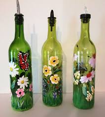 Unusual Wine Bottles Interesting Wine Bottle Painting Ideas 57 About Remodel House