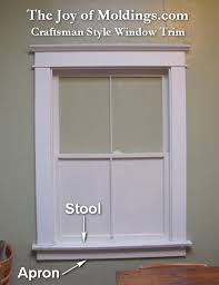 Bathroom Window Trim How To Make A Craftsman Style Window Surround The Joy Of