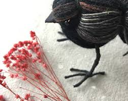 blackbird black bird etsy