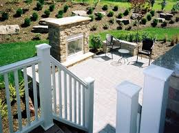 free standing deck fireplaces ideas outdoor creative fireplaces