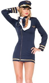women u0027s pilot costumes forplay