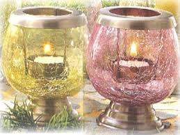 candle holders mercury mosaic glass iron metal beaded