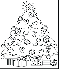 tree printable color ornaments free coloring book