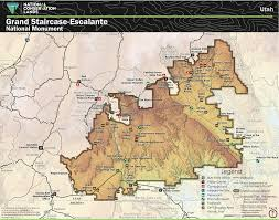 Kanab Utah Map by Grand Staircase Escalante National Monument U2014 Frontier Science
