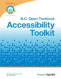 open bc open textbook accessibility toolkit open textbook
