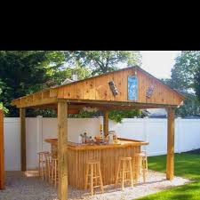 Tiki Backyard Designs by 299 Best Backyard U0026 Tiki Bar Images On Pinterest Backyard Ideas