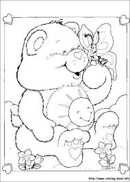 care bears coloring picture embroidery needlepoint