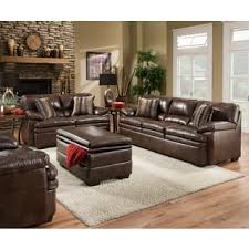 Bonded Leather Loveseat Bonded Leather Simmons Upholstery Furniture Store Shop The Best