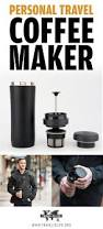 personal travel coffee maker mug for coffee lovers and javaphiles