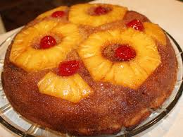 skillet pineapple upside down cake just one donna