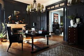 Retro Modern Interior Design Ideas Creating Mysterious Dark Rooms - Interior design retro style
