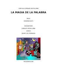 colombia libro de lectura grado 6 cartilla lengua castellana de quinto de primaria