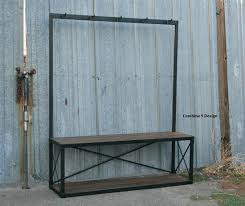 industrial bench seat benches industrial dining bench seat