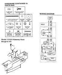 nutone range hood wiring diagram nutone range hood installation