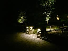 low voltage lighting landscaping patios and retaining walls