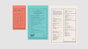 25 best and creative restaurant menu designs for inspiration
