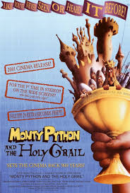 usc productions presents monty python and the holy grail western