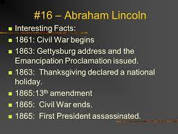 16 abraham lincoln born february 12 1809 birthplace hardin