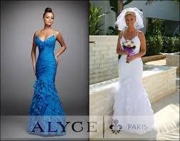 chagne wedding dress alyce prom color can change the message of the dress