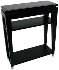 black console table with storage buy rv astley black glass top console table 2 shelves online cfs uk