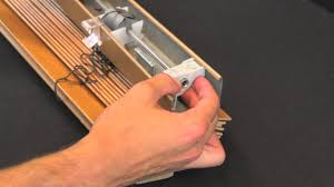 Window Blind Repairs How To Replace A Wand Tilt Mechanism Youtube