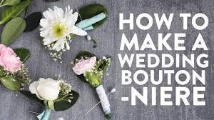 How To Make Boutonnieres Make This Diy Boutonniere Youtube