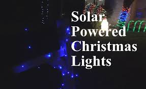 solar panel christmas lights solar powered christmas lights review part 2 epicreviewguys in 4k