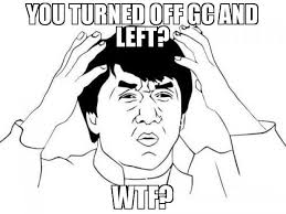 Meme Jackie Chan - you turned off gc and left wtf meme jackie chan wtf 47884