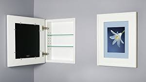 Amazon Com 13x16 White Concealed Cabinet Regular A Recessed