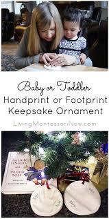 Baby Keepsake Ornaments Or Toddler Handprint Or Footprint Keepsake Ornament