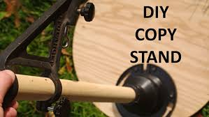 camera copy stand with lights diy photographic copy and reproduction stand from plywood and