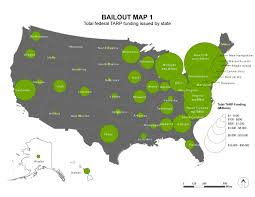 Map Of Us Time Zones by The Bailout Maps The Atlantic