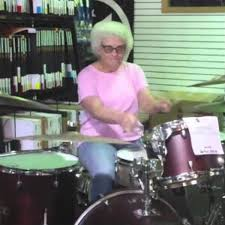 Drummer Meme - grandma drummer mary hvizda know your meme