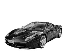 Ferrari 458 Black And White - ferrari 458 italia coupé auto salon singen