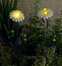 flower pot solar light great ideas decorative solar garden lights the landscape design