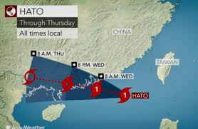 Shenzhen China Map Schools Close Trains Suspended As Guangdong Braces For Typhoon