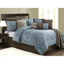 Teal And Grey Bedding Sets Teal And Brown Bedding Brown And Blue Bedding King Size Teal Brown