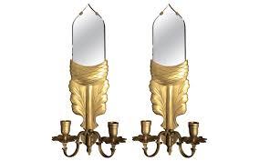 Mirrored Wall Sconce Viyet Designer Furniture Lighting Chapman Manufacturing