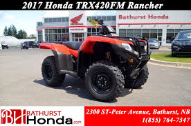 new 2017 honda trx420 rancher at bathurst honda b7437