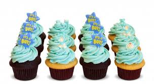 baby boy shower cupcakes baby shower boy dozen trophy cupcakes party