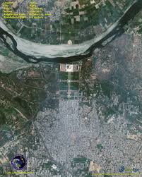 Satellite Map Live Geoeye 1 Satellite Image Of The Taj Mahal Satellite Imaging Corp