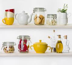 kitchen shelf pinterest